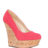 Cecelia Wedge - Coral