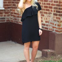 When We Fell In Love Dress in Black | Monday Dress Boutique