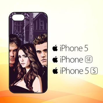 Vampire diaries Y0995  iPhone 5|5S|SE Case
