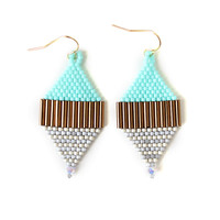 Layered Diamond Earrings