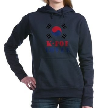 Kpop Lover Women's Hooded Sweatshirt