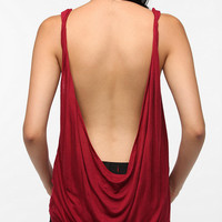 Daydreamer LA Twisted Low Back Tank Top