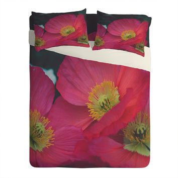 Catherine McDonald Electric Poppies Sheet Set Lightweight