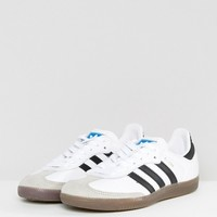 adidas Originals Samba Sneaker In White at asos.com