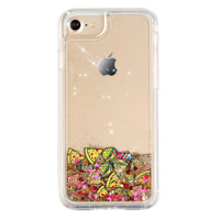 Foodie Glitter Dual iPhone Case