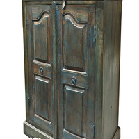 India Furniture Storage Armoire Antique Teak Wood Cabinet Buffet