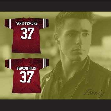 Jackson Whittemore 37 Beacon Hills Lacrosse Jersey Teen Wolf TV Series
