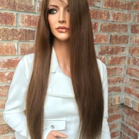 Silk Base Human Hair Full Lace Wig 22""