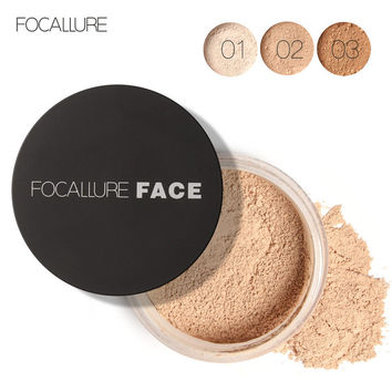 Oil Control Permeable Contour Transparent Persistent Sweatproof Powder [9005133188]