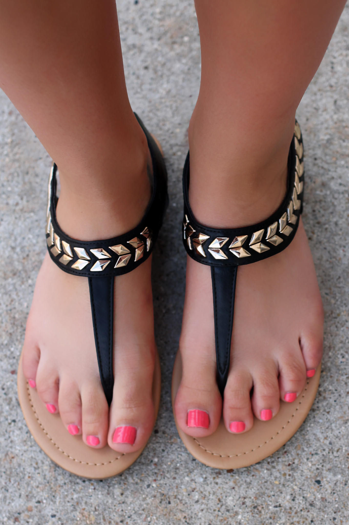 Yet To Come Sandal Black From Uoi Boutique Bahamas 2k15