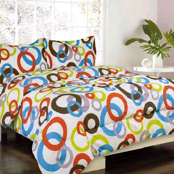 Circus Multi-Color Bed Set