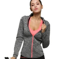 Lightweight Women's Activewear Yoga Running Gym Jacket