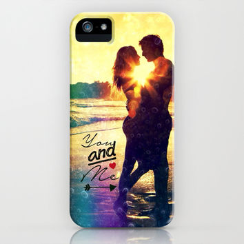 You and Me - for iphone iPhone & iPod Case by Simone Morana Cyla