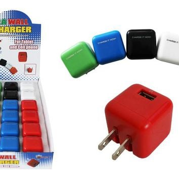 2 amp usb wall charger Case of 18