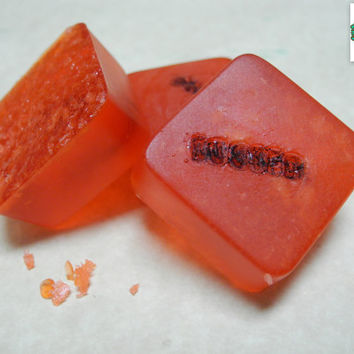 Busted Pop Rock soap bars - Set of 3 - Mythbusters Inspired, Candy Soap, Kid soap, Pop Rock Soaps