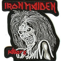 Iron Maiden Iron-On Patch Eddie Killers Logo