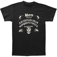 Misfits Men's  Ouija Board T-shirt Black Rockabilia