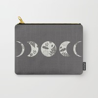 Lunar Nature Carry-All Pouch by Bohemian Gypsy Jane