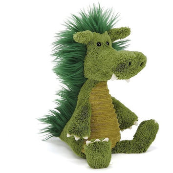 Jellycat Snagglebaggle Dudley Dragon 14""