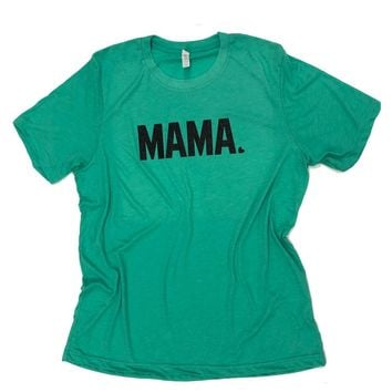 Sweet Caroline Boutique Sea Green Curvy Mama Plus Size T-Shirt