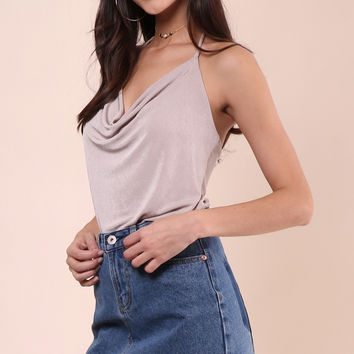 Decker Be The One Halter Top