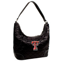 Texas Tech Red Raiders NCAA Quilted Hobo (Black)