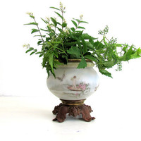 Antique Jardiniere Planter French Country by NifticVintage