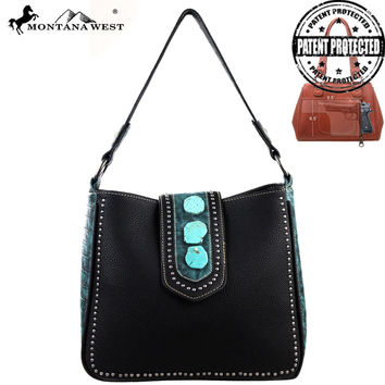 Montana West MW129G-8360 Concealed Carry Handbag