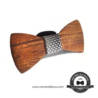 Supermarket: Wooden Bowtie -