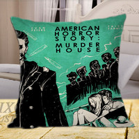 American Horror Story Murder House Best on Square Pillow Cover