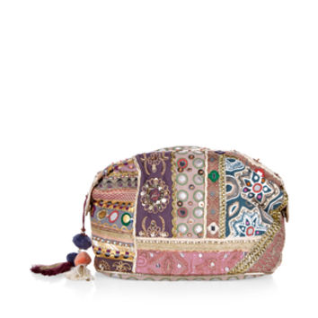 Souk Mirror Make Up Bag | Metallic | Accessorize