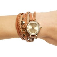 Love Charm Wrap Watch | Wet Seal