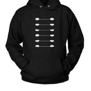 DCCKL83 Baymax Face Hoodie Two Sided