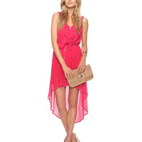 High-Low Ruffle Dress | FOREVER21 - 2000035139