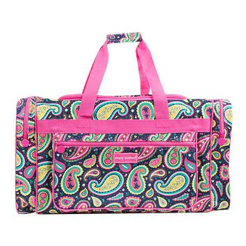 "Simply Southern ""Paisley"" Duffel Bag"