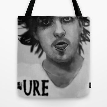 Robert Smith, The cure. painting Tote Bag by Normie