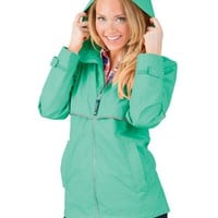 Women's New Englander® Rain Jacket by Charles River - 3 Color Choices