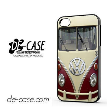 VW Volkswagen Bus For Iphone 4 Iphone 4S Case Phone Case Gift Present