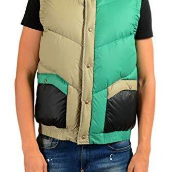 Moncler Men's MARKAM Multi-Color Down Vest Sz 3 US M