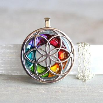 Seed of life necklace - available in additional colors