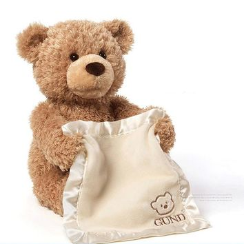 Cute Music Bear Plush Toy