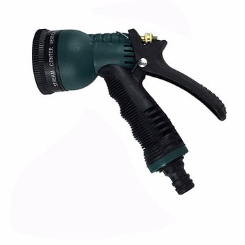 Copper Multifunction 7 Pattern Water Nozzle Household Garden Car Wash Water Gun Cleaning Spray Gun For Garden Car Washing