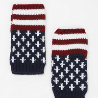 Americana Fingerless Gloves