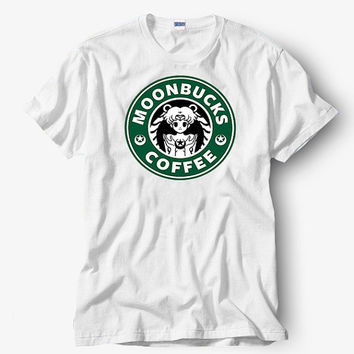 Sailor moon Moonbucks Coffee shirt, Starbucks shirt, Hot product on USA, Funny Shirt, Colour Black White Gray Blue Red