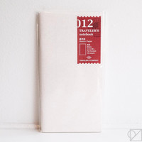TRAVELER'S Company 012 Sketch Paper Notebook Refill