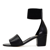 Lucy Ankle-Wrap Heel