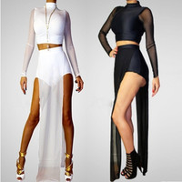 New 2014 Casual Brief Long Mesh Dresses Brand Sexy Evening Bodycon Maxi Club Dress Gowns Summer White femininos = 1901120452
