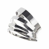 Clean Silver Bangle Pack - Silver