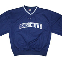 Georgetown Nike Team Warm Up Jacket M
