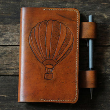 Leather notebook cover, moleskine cover, leather notebook journal,leather field notes cover, moleskine leather cover, pen holder